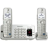 PANASONIC Cordless Phone [KX-TGE272] - Silver - Wireless Phone